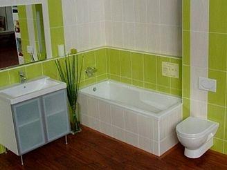 Moderní koupelna v paneláku