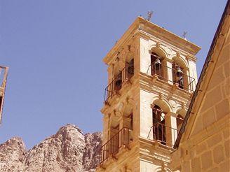 Egyptská Taba - kláštera svaté Kateřiny