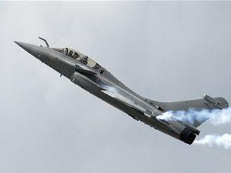 francouzský letoun Rafale B