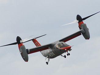 Světovou premiéru měl v Le Bourget americko-italský konvertoplán Bell/Agusta BA609