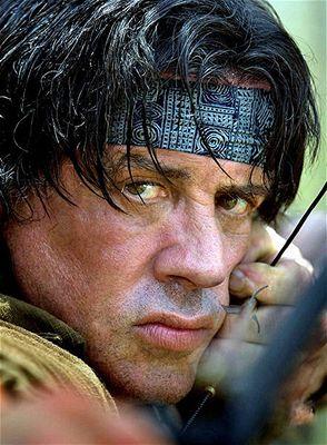 Sylvester Stallone ve filmu John Rambo (aka Rambo IV)