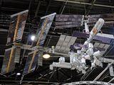 Model mezinárodní vesmírné stanice ISS