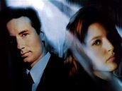 Akta X - David Duchovny a Gillian Andersonová