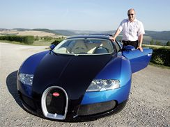 Radim Passer a jeho Bugatti Veyron
