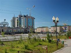 Salechard, Rusko