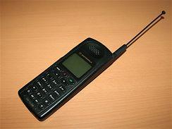 Mobilní telefony se sbírky Vladimíra Vítka