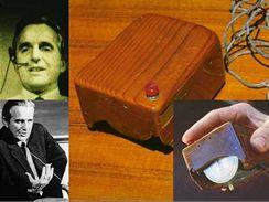 Historická dřevěná myš