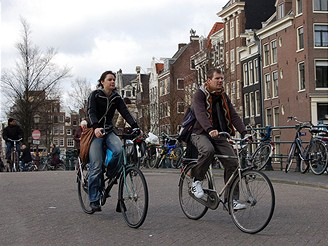 Amsterdam, hlavní město kol