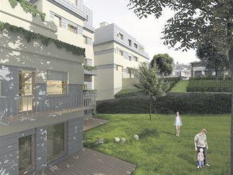 Bytový komplex Manovka - vizualizace