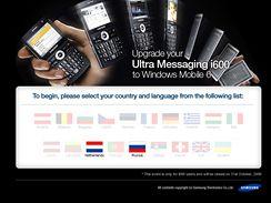 Samsung SGH-i600 a Windows Mobile 6