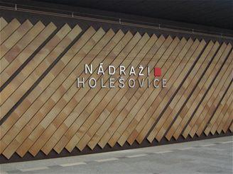 pražské metro - stanice Nádraží Holešovice