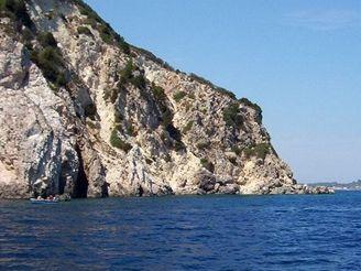 Řecko - Zakynthos - želví ostrov Marathonisi