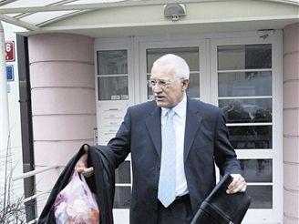 Václav Klaus, družstevní byt v Libni