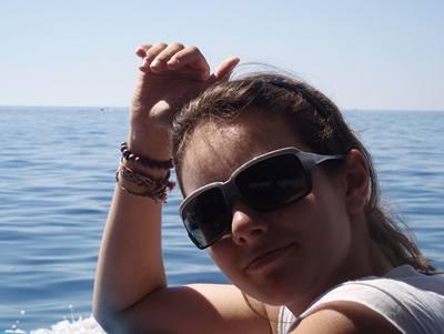 Kliknutím zobrazíte větší formát - Ewa Farna na prázdninách v Chorvatsku