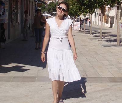 Ewa Farna na prázdninách