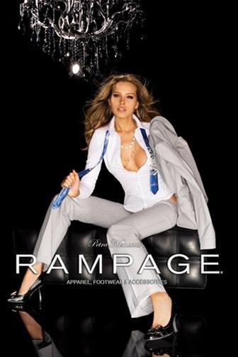 Petra Němcová v reklamní kampani módní značky Rampage (podzim 2007)