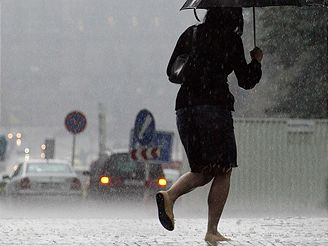 Česko potrápily přívalové deště