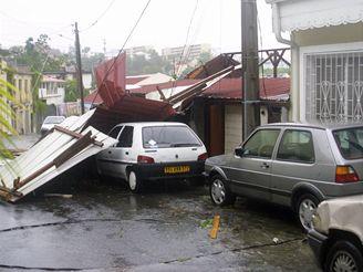 Hurikán Dean na Martiniku
