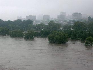 Severní Koreu zasáhly v posledních dnech katastrofální povodně