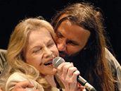 Trutnov 2006 - Eva Pilarová a Martin Věchet.