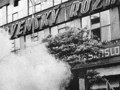 Dramatické události srpna 1968