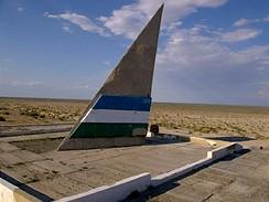 Trabantem v Kazachstánu