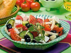 Řecký sedlácký salát