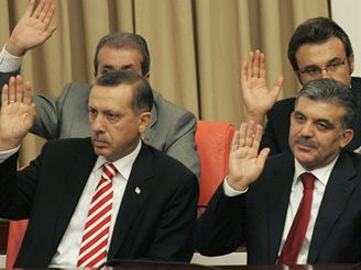 Recep Tayyip Erdogan a Abdullah Gül