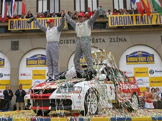 Barum rally Zlín