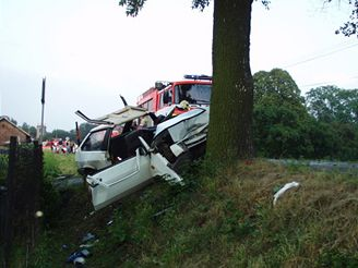 Nehoda Lady Samara v Petřvaldu