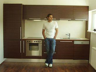 Vladko Dobrovodský v novém bytě