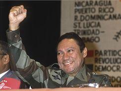 Bývalý panamský vůdce Manuel Noriega