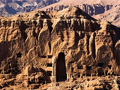 Bamiyanské údolí v Afghánistánu