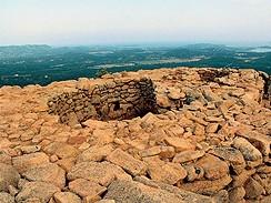 Korsika, pevnost Casteddu d´Araghju