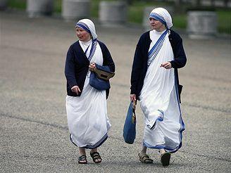 Sestry z řádu Misionáři Charity