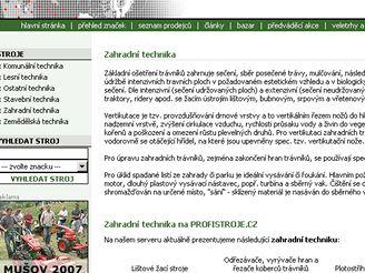 Profistroje.cz