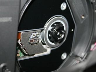 Hitachi BluRay kamera - mechanika