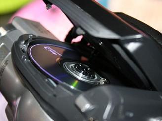 Hitachi BluRay kamera - detail disk