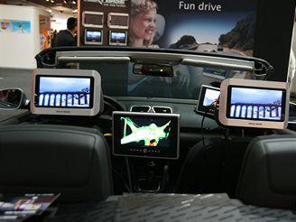 Audiovizuální automobil (momentky z IFA 2007)