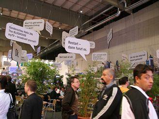 Bloghouse (momentky z IFA 2007)