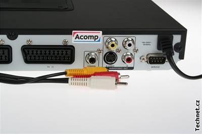 Cinch a S-Video konektory