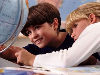 Studenti a globus