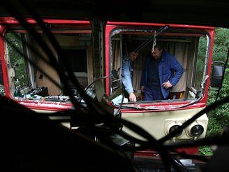Nehoda vlaků u Vodňan