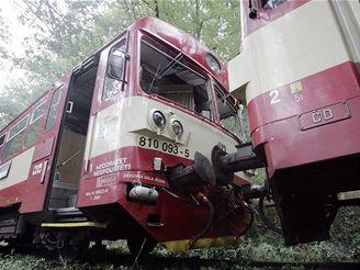 Srážka vlaků u Vodňan