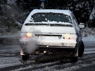 Sníh na Klínovci