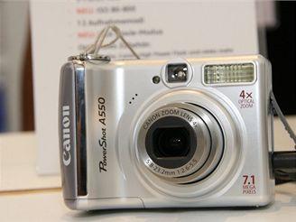 Canon PowerShot A550 (IFA 2007)