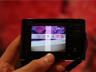 Samsung NV20 - ovládání (IFA 2007)
