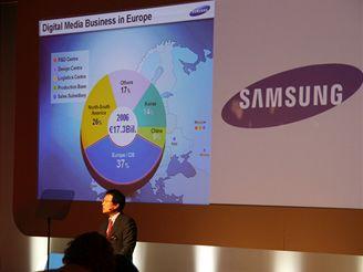 Tisková konference Samsung (IFA2007)