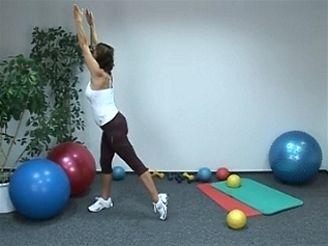 2. cvičení s Hankou Kynychovou - protažení celého těla