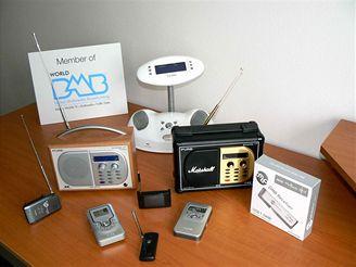 Přístroje pro příjem DAB a DMB vysílání